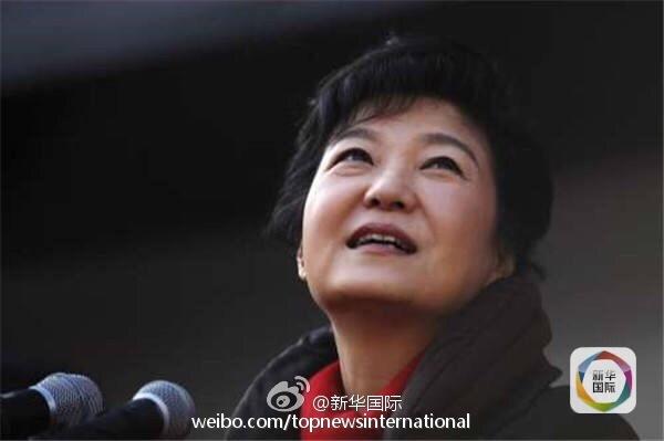 7月第四周韩国总统朴槿惠的支持率持续低迷
