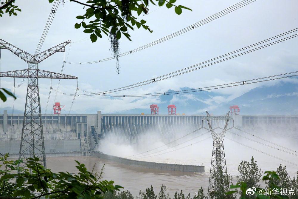 削峰36.7%!三峡水库有效拦蓄长江2020年第3号洪水