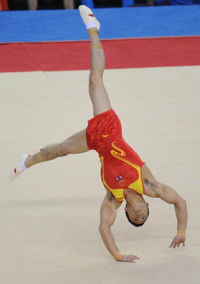 我操了弟弟的_体操|邓书弟夺得全国锦标赛男子自由操冠军