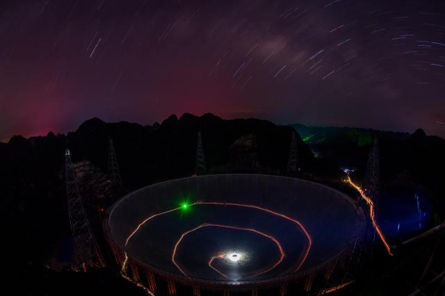 """中国""""天眼""""现美景:大国望远镜"""