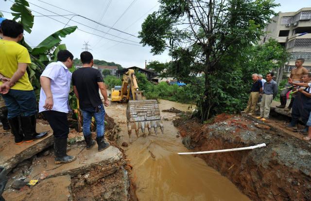 湖南岳阳:探访内涝严重的白石岭城中村
