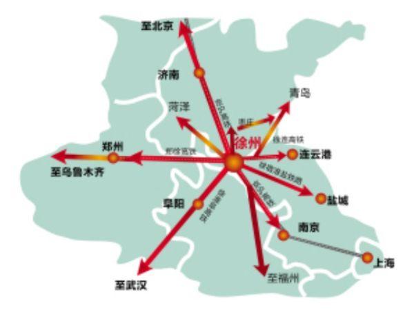 经过铁路建设者3年多的辛勤奋战,郑徐高铁正在进行联调联试,并承担中国标准动车组试验任务。根据计划,郑徐高铁有望在9月10日前后开通运营,郑徐客运专线通车运营后,徐州高铁将形成T字枢纽,徐州将与南京、郑州、济南、合肥4个省会城市构成1小时城市圈。 据了解,郑州至徐州客运专线是国家十二五综合交通体系规划中的区际交通网络重点工程,与国家东西交通大动脉陇海铁路、连霍高速公路平行。西起郑州东站,东至徐州东站,途经河南开封、商丘、安徽砀山、萧县,江苏徐州。线路全长362公里,其中河南省252.