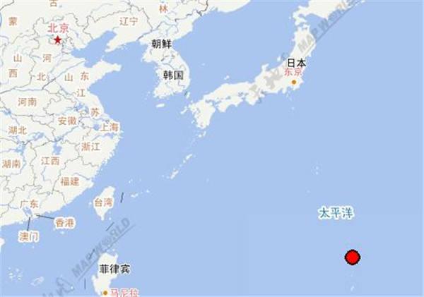 北马里亚纳群岛海域发生7.7级地震