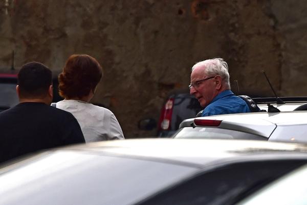 8月18日,爱尔兰奥委会主席帕特里克·希基在巴西里约热内卢被捕。(新华/法新)