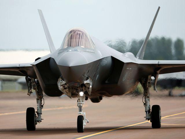 资料:美军F-35A战机。(图片来源:新华/路透)