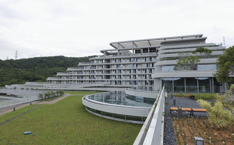 这是9月6日拍摄的国家基因库外观。 新华社记者 毛思倩 摄