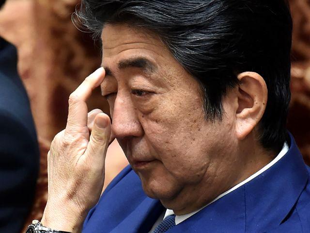 日本首相安倍晋三。(新华/法新)