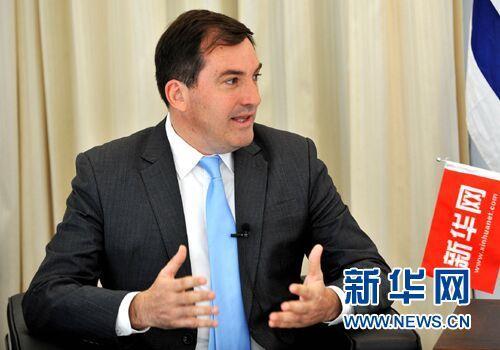 乌拉圭驻华大使费尔南多·卢格里斯