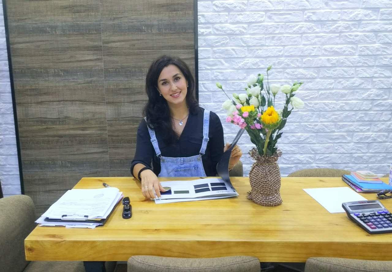 达里娅--北京一家服装公司设计师。 照片由被采访对象提供