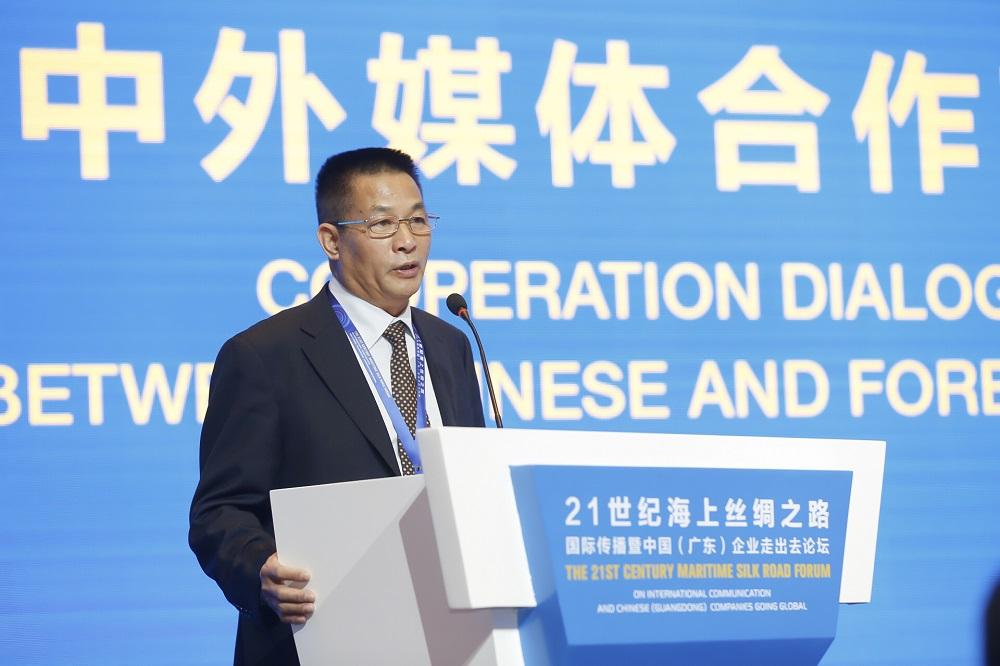 新华社世界问题研究员、中东总分社前社长 吴毅宏在论坛上发言