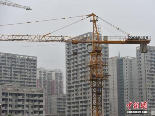 图为北京郭公庄一期正在建设中的公租房项目。<a target='_blank' href='http://www.chinanews.com/' >中新网</a>记者 金硕 摄