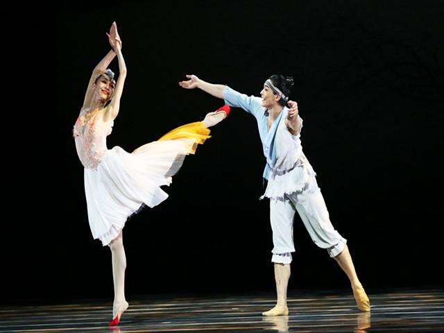 中国舞剧《朱鹮》亮相纽约林肯中心