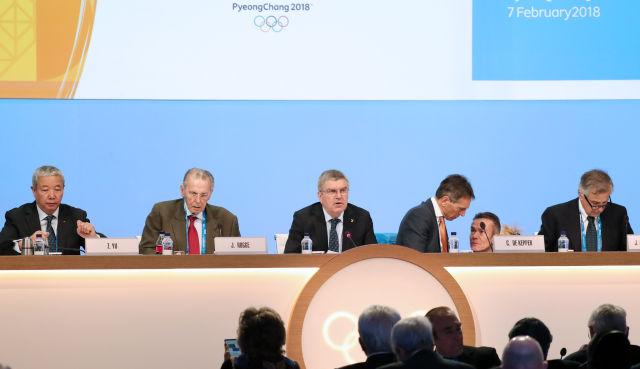 于再清再次当选国际奥委会副主席