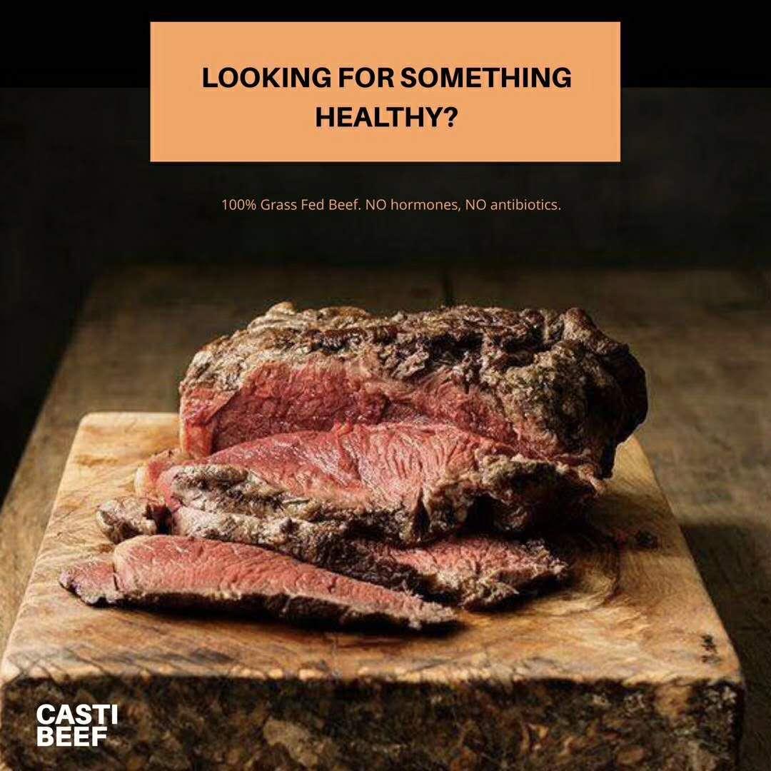 乌拉圭牛肉开始瞄准中国高端消费群体。 新华社发图片由Casti Beef提供