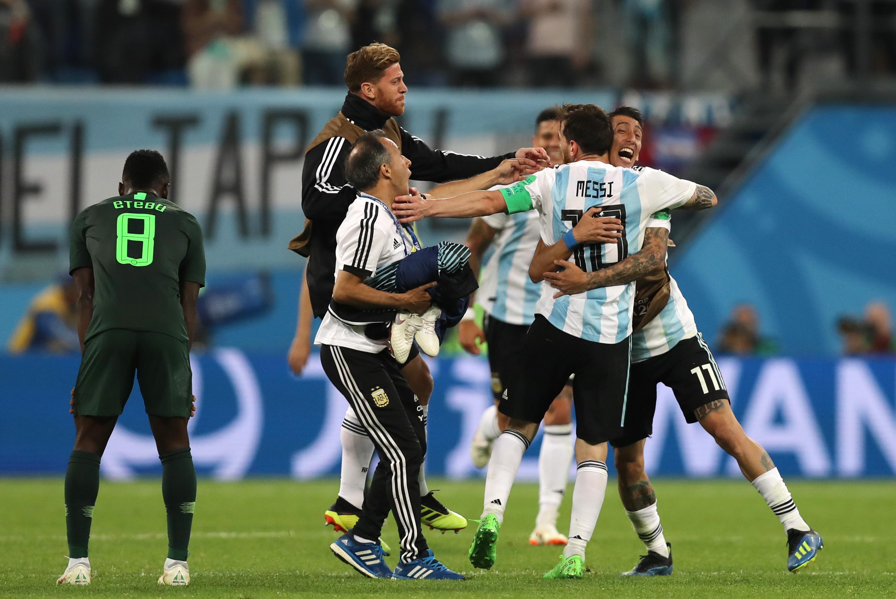 动感世界杯 阿根廷险胜尼日利亚晋级十六强