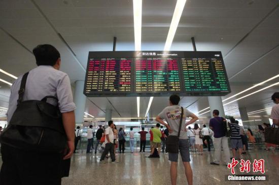 资料图:上海虹桥机场。<a target=\_blank href=http://www.chinanews.com/>中新社</a>发 张亨伟 摄