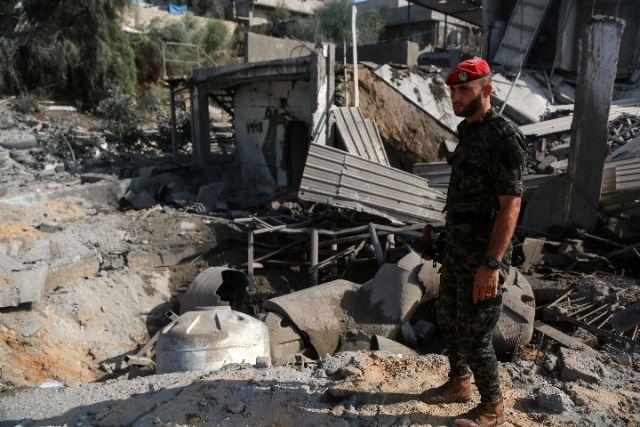 以色列炮击加沙地带两个哈马斯哨所