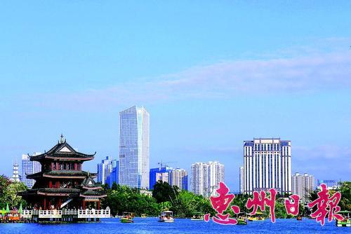 惠城区楼宇经济等经济业态蓬勃发展。