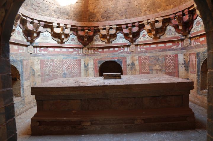安阳首次发现金代高僧壁画墓 壁画内容很罕见