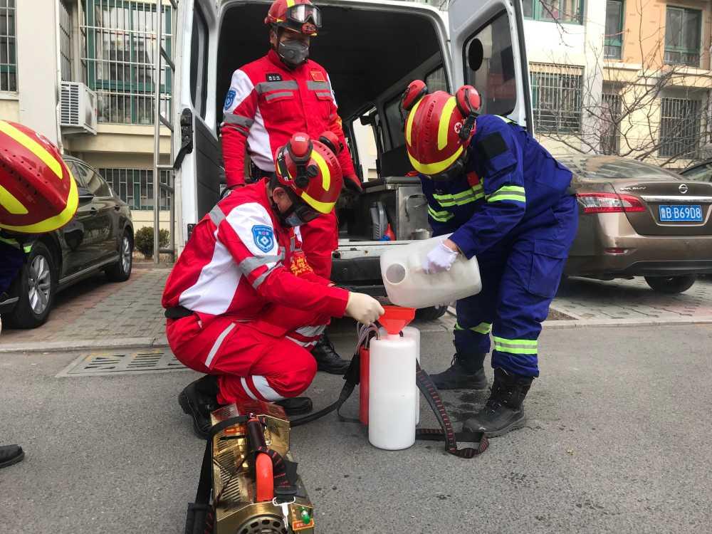 又是这支队伍!青岛红十字蓝天救援队防疫在行动