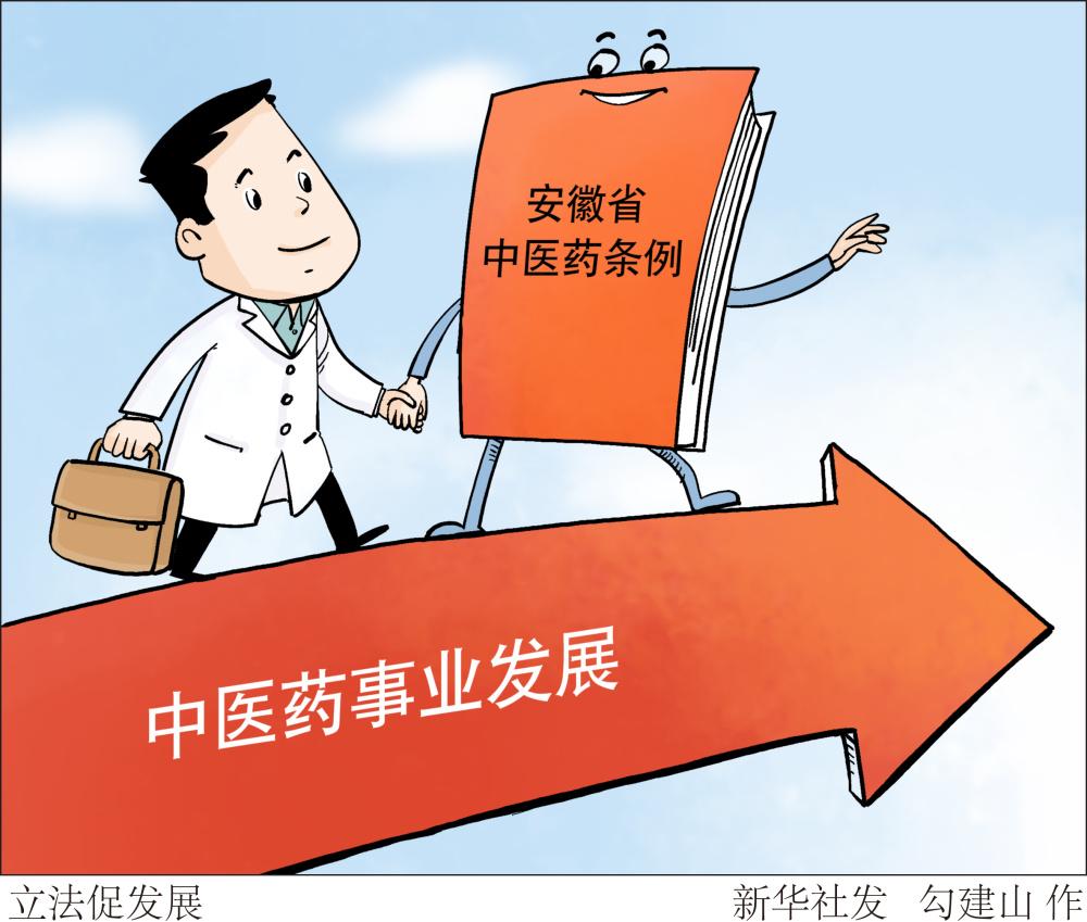 安徽立法促进中医药事业发展