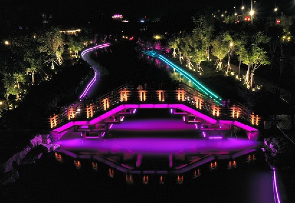 開封:生態廊道串起文化珍珠 再現「水中有城、城中有水」