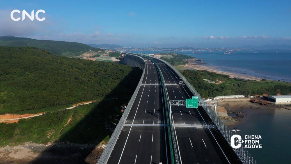 瞰中国丨云上看桥 如此壮观