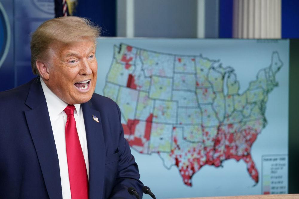 """""""我们一直把美国当模范,直到这次疫情……"""""""
