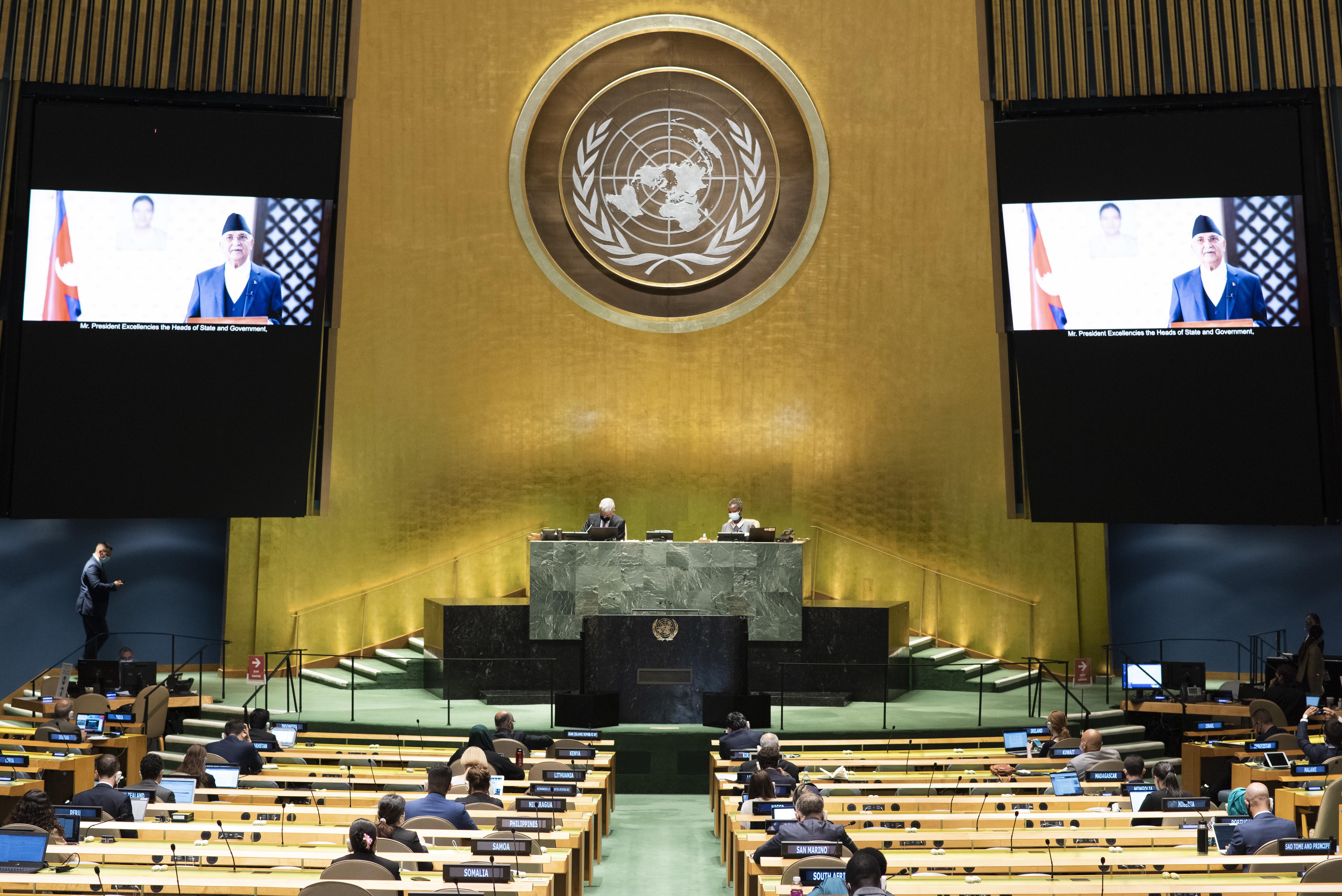 多国领导人呼吁支持世卫组织坚定捍卫多边主义