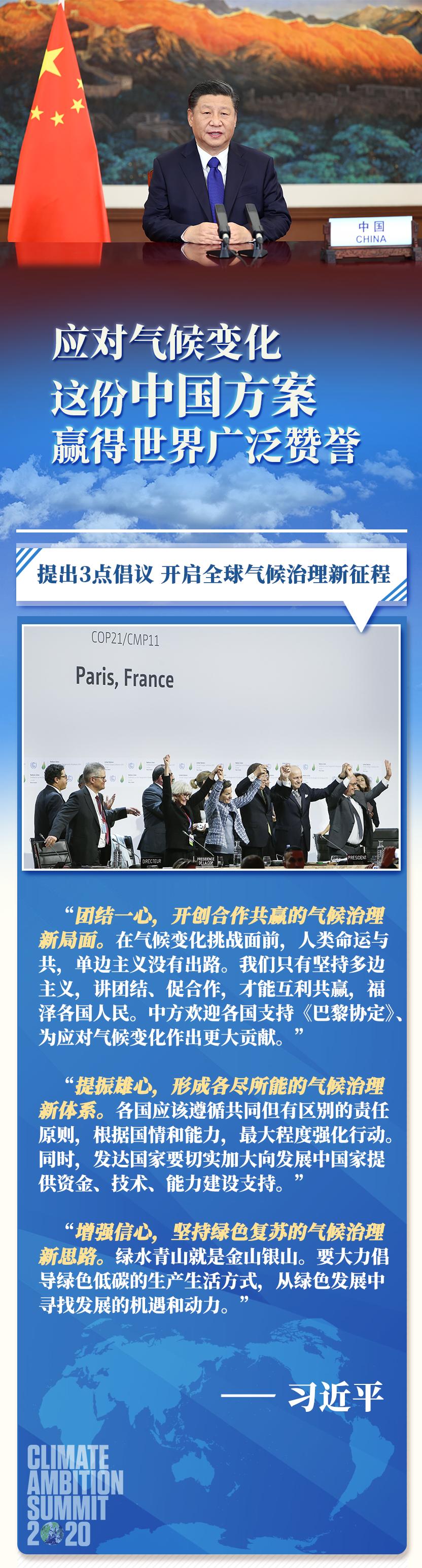 第一报道 | 应对气候变化 这份中国方案赢得世界