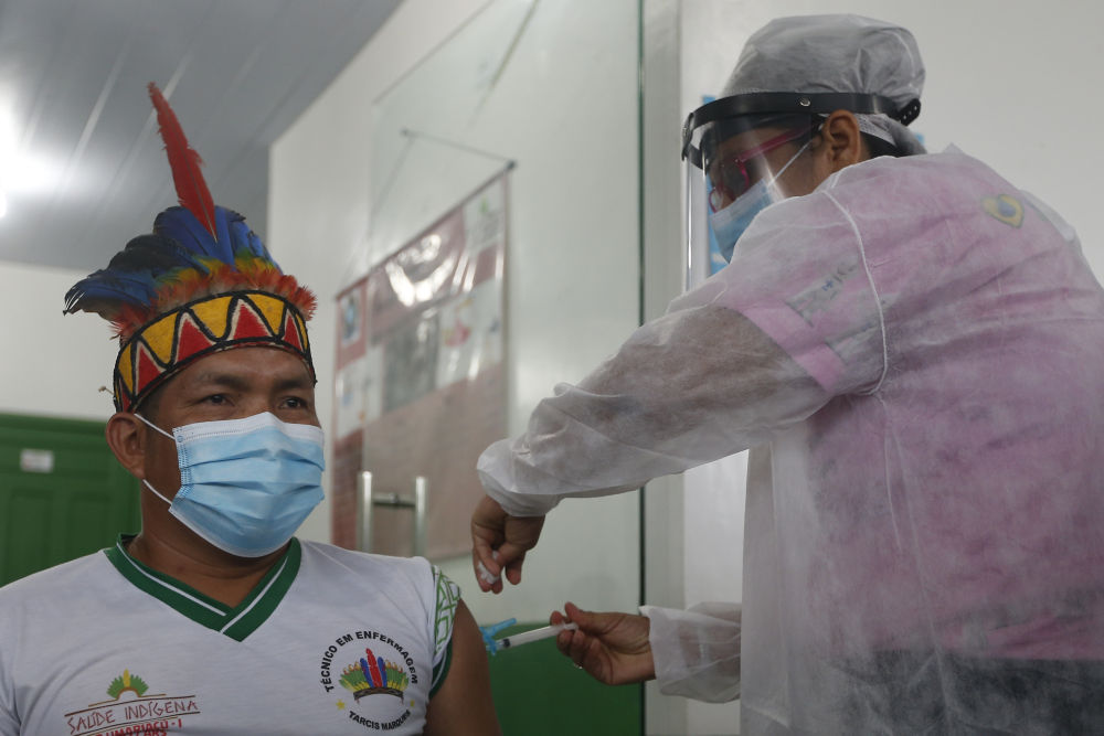 Indigenous people in Amazonia of Brazil vaccinated with Chinese new crown vaccine