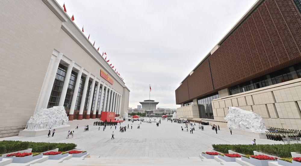 獨家揭秘!中國共產黨歷史展覽館五組藝術雕塑的細節和寓意!