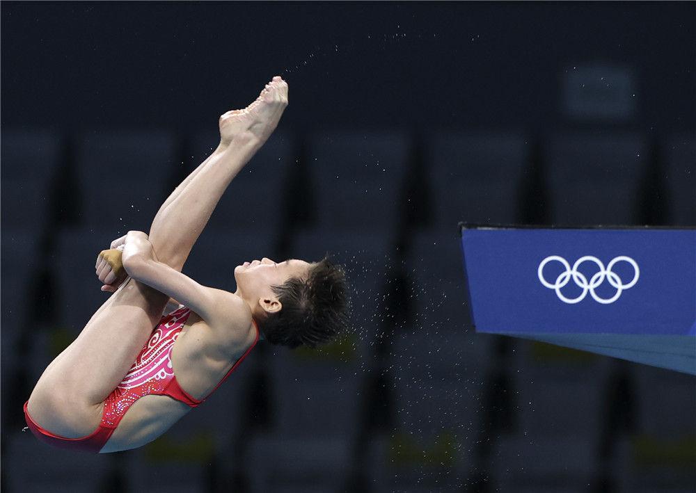 水花的精灵——奥运跳水冠军全红婵的成长故事(图5)