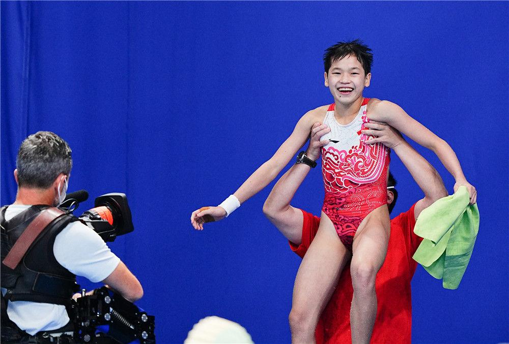 水花的精灵——奥运跳水冠军全红婵的成长故事(图3)
